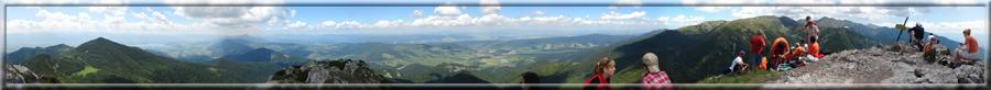 360° panoráma zo Sivého vrchu na okolie (22.06.2008)