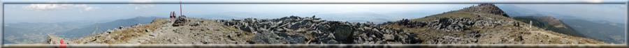 360° panoráma z Babej hory na okolie (07.09.2008)