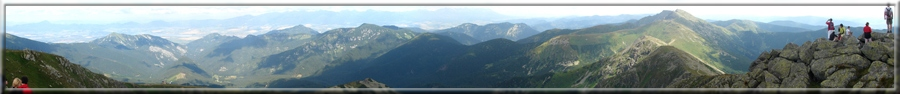 200° panoráma z Chopku na okolie (09.08.2009)