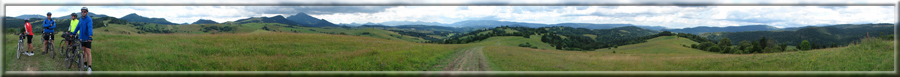 300° panoráma medzi Malatinou a Pribišom (26.07.2009)
