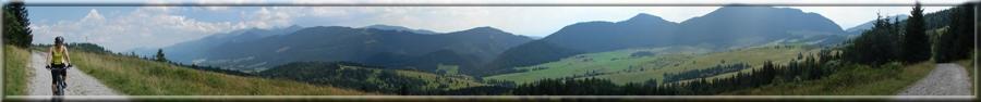 200° panoráma pri zjazde do Malatinej (02.08.2009)