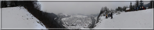 360° panoráma na Červenej skale pri varení Silvestrovskej kapustnice
