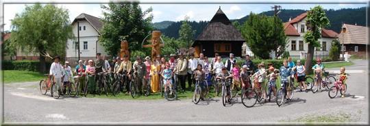 Jazda na starých bicykloch