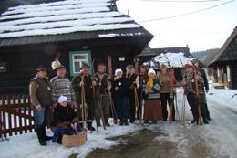 Staré lyže Podbiel